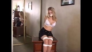 Ginger Lee Held Captive in Motel – Bound, Gagged, Groped