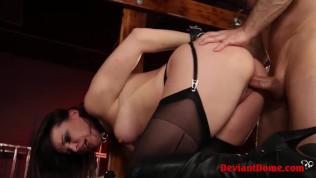 Dirty Milf Dana Dearmond Bound & Banged In BDSM Session