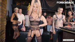LETSDOEIT – Busty Barbie Sins Humiliated And Fucked Hard At Bondage Session