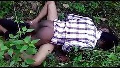 Desi girl fuck in jungle