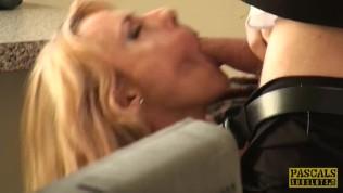 PASCALSSUBSLUTS – Wild Mature Brittany Bardot Ass Fucking BDSM