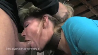 Insatiable Amber Rayne Bound and Ass/Faced Fucked