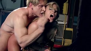 Jessica Moore is under domination. Part 2. This is called really deep throat fucking. 14 min