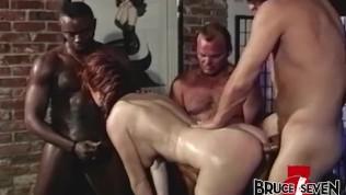 BRUCE SEVEN – Barbara Doll Takes on Three Dudes