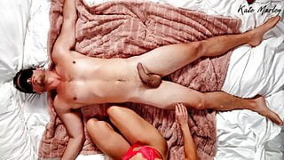 Sensual Romantic Femdom – Man Tied Up By Wife – Kate Marley